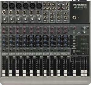 Rent-Mackie 1402VLZ 14 Channel Mixer