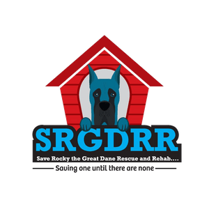 SRGDRR: Save Rocky the Great Dane Rescue and Rehab's Logo