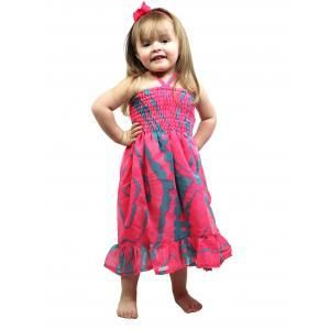 #4742 Pink-Teal Child Size S-L