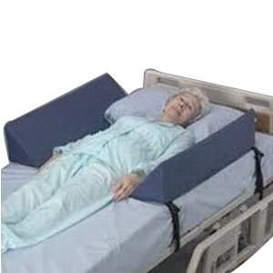 Soft Rail Double Bolster With Vinyl Cover, Prevent Patient Fall, Fleece