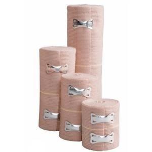 Elastic Bandage with Clip Closure,