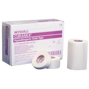 "Hypoallergenic Silk Tape 2"" W x 10 yds. L, Latex-free"
