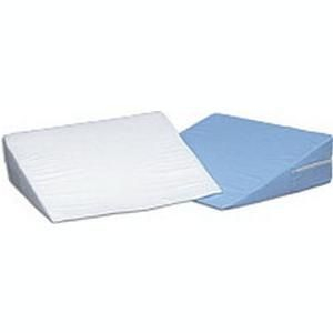 "Mabis DMI Foam Bed Wedge, White Cover 10"" x 24"" x 24"""