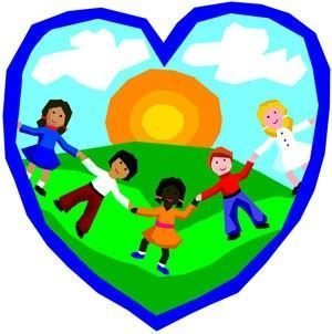 The Cub School joined hands in heart