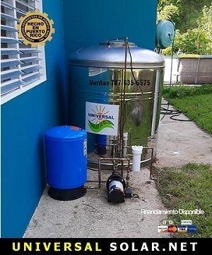 Tanque de agua Puerto Rico