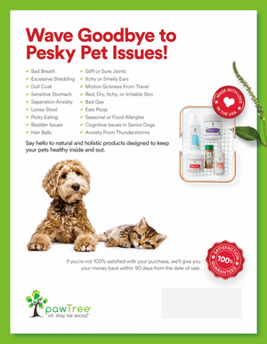 pawTree Supplements for Pet Issues