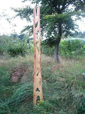Gartenobjekte aus Holzbrettern