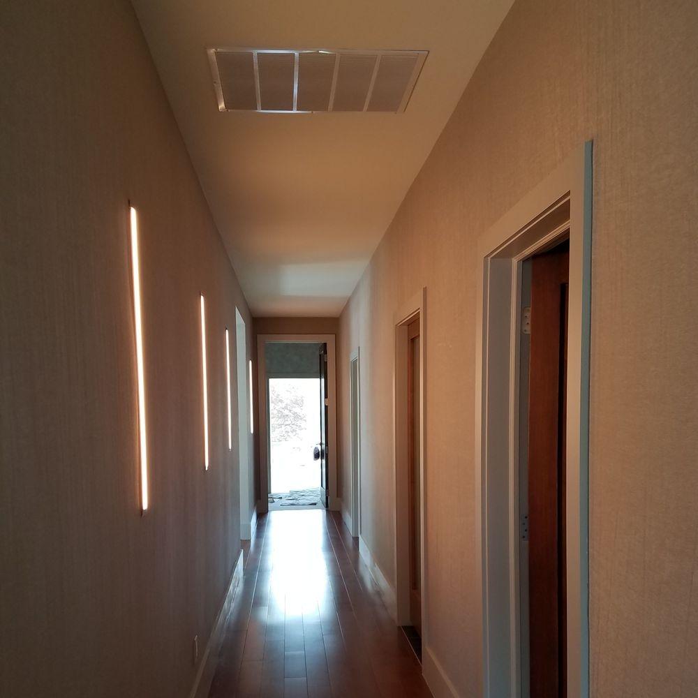 Hallway of home