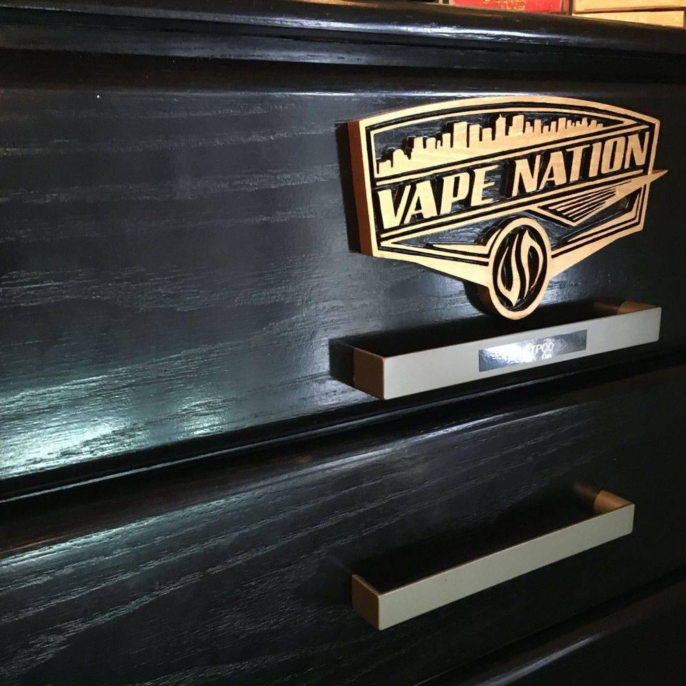 Commercial vape storage unit