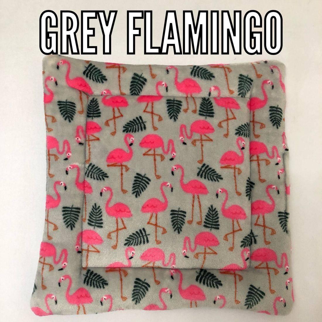grey Flamingo fabric
