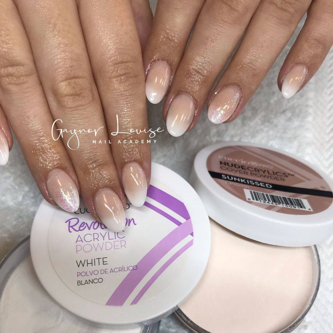 acrylic nail training, gaynor louise nail academy, nail training bury north west, cuccio nail courses, french ombre nails. baby boomer nails