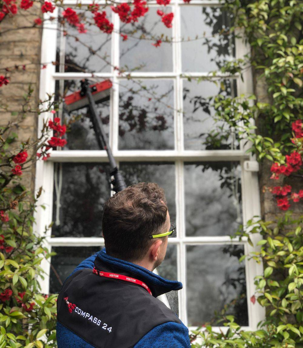 window cleaning domestic residential Commercial business Cambridge
