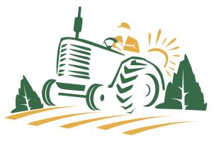 Logo for small farm called Apple Creek Vineyard Farm located in Galt, California.