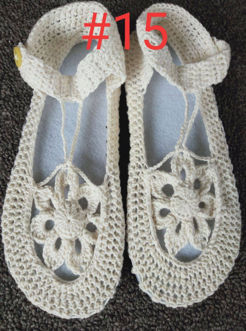 Cotton Boho Shoes Handmade