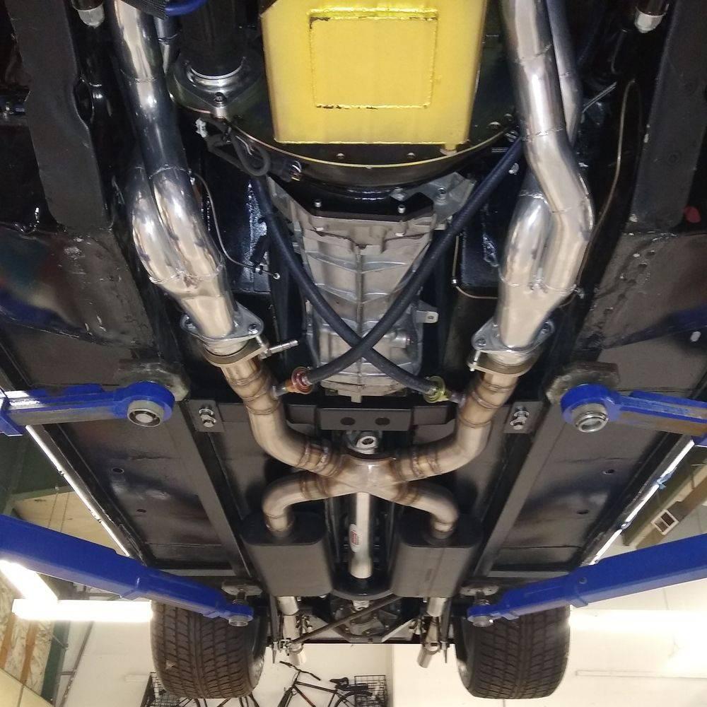 Specialized custom exhaust