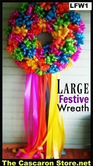 Large fiesta wreath