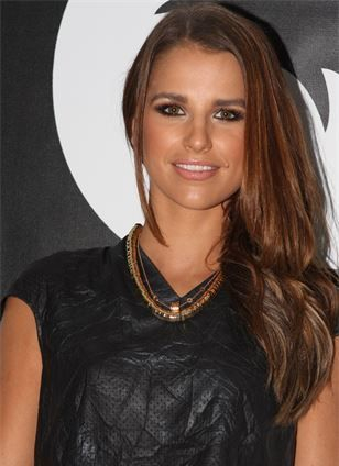 Clothed Picture of Model Vogue Williams who visited I-KANDI