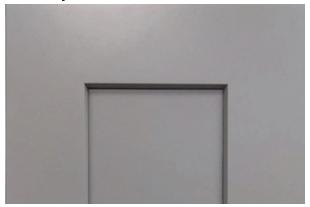 Platinum Shaker Cabinet Door