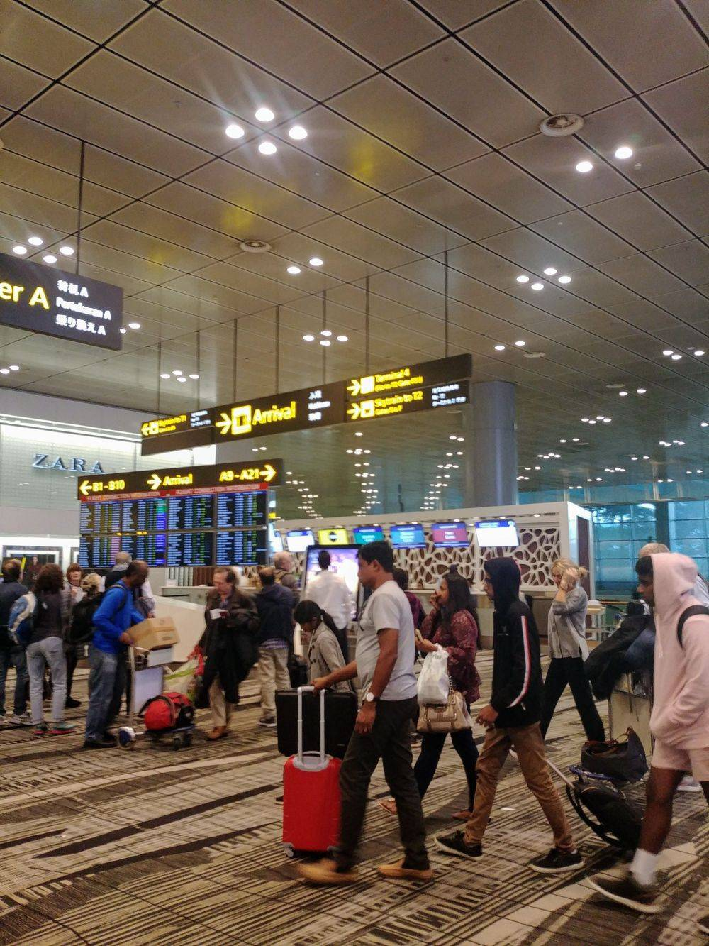 british & far east traders, singapore airlines, singapore changi airport