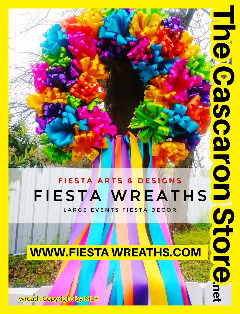 Extra Large Fiesta Party Wreath