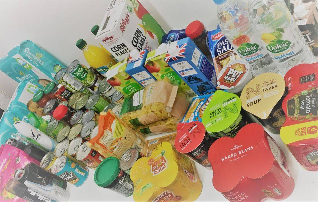 YLG | Yorkshire Logistics Group Donation to local foodbank