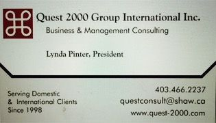 Quest 2000 Business Card