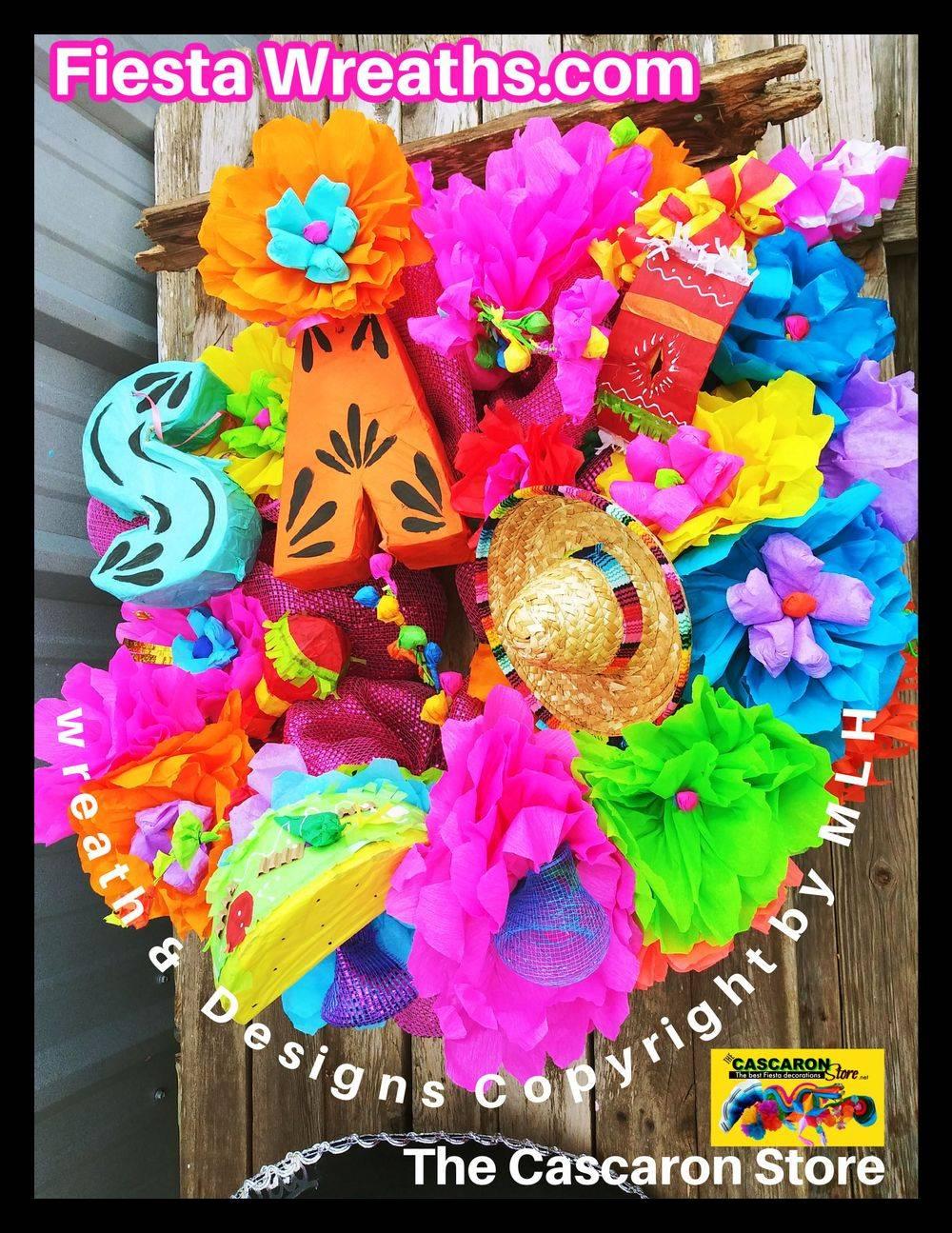 Fiesta Door Wreath