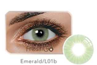 hidrocor lenses, EMERALD LENSES , yearly, contact lenses,