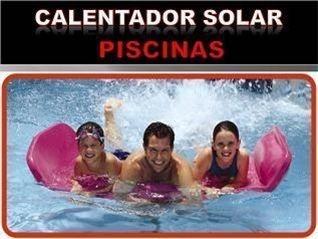 Calentador solar para Piscina