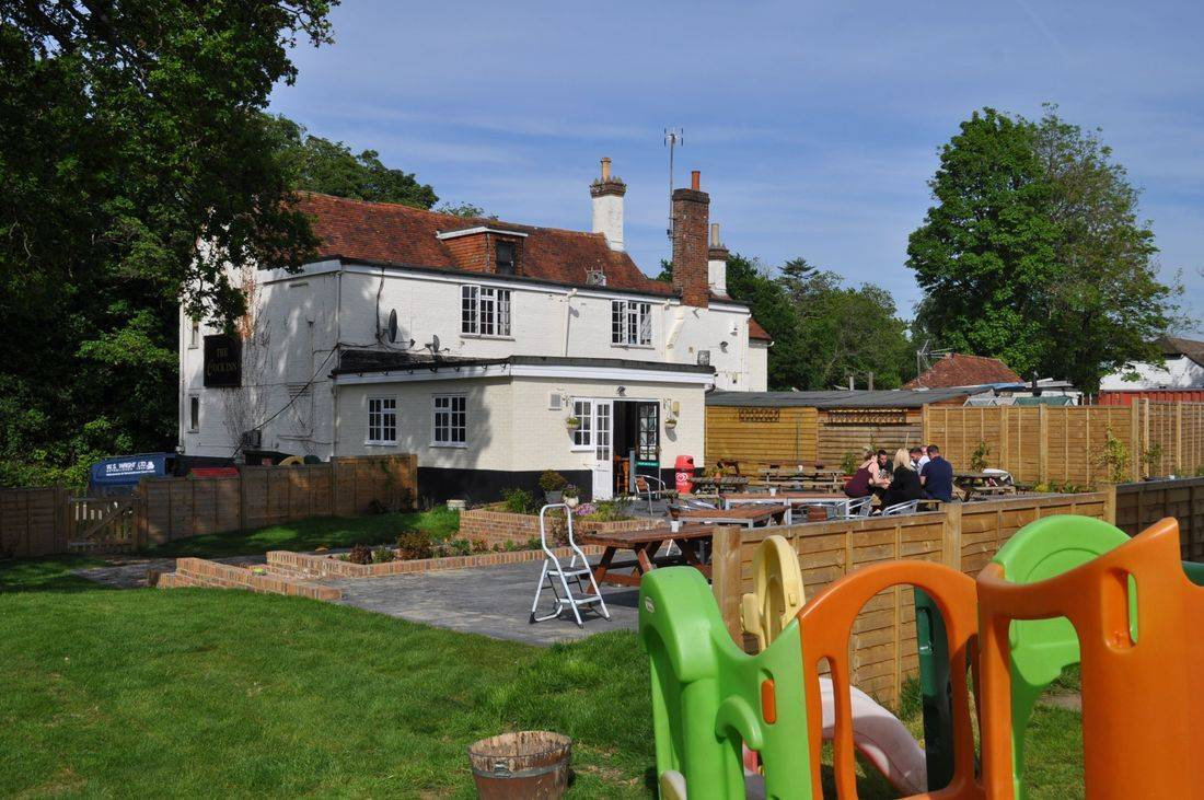 Play Area and Rear of Pub