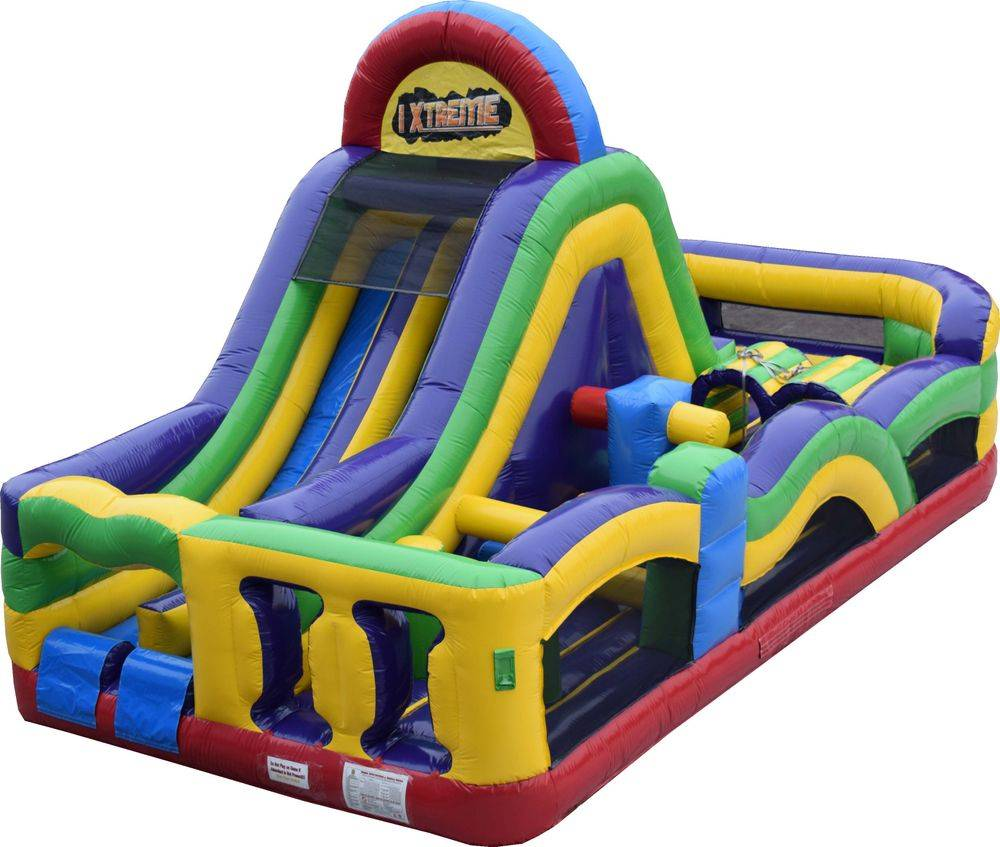 Obstacle Course Double Line Slide