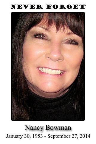 Nancy Bowman RIP