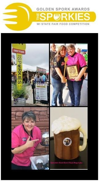 WI State Fair 2016 Sporkies Award Winner RootBeer Float Cake