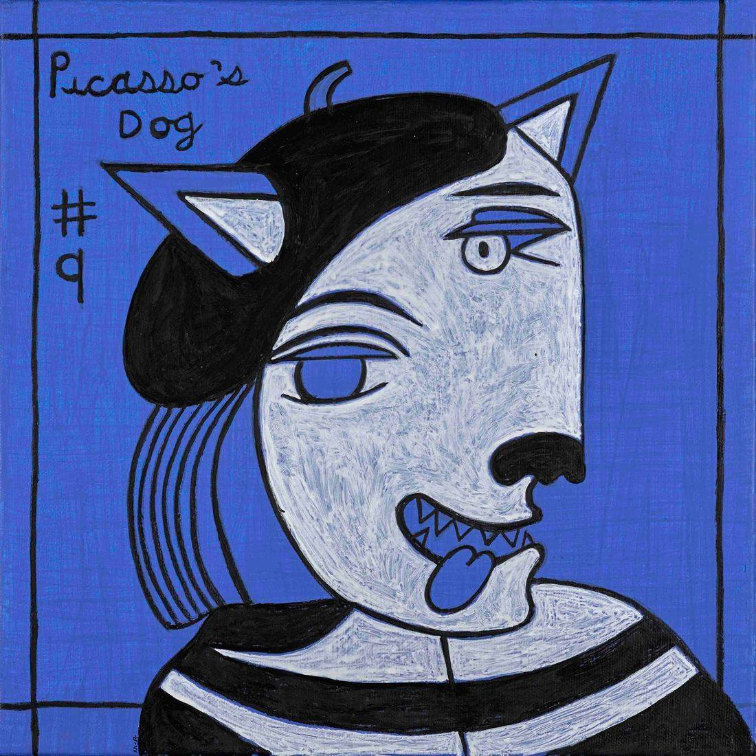 Picasso, Dogs, Picasso's Dogs, Beret
