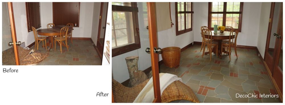 before and after home staging winnipeg manitoba decochic interiors kelly penuita