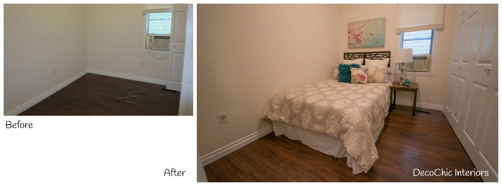 before and after vacant staging winnipeg manitoba decochic interiors kelly penuita