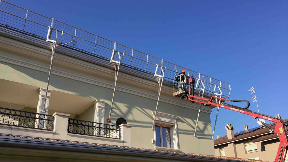 Parapetti RSS - Roof Safety System