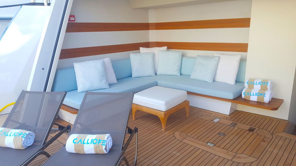 Newport Yacht Interiors, yacht interior, custom cushions