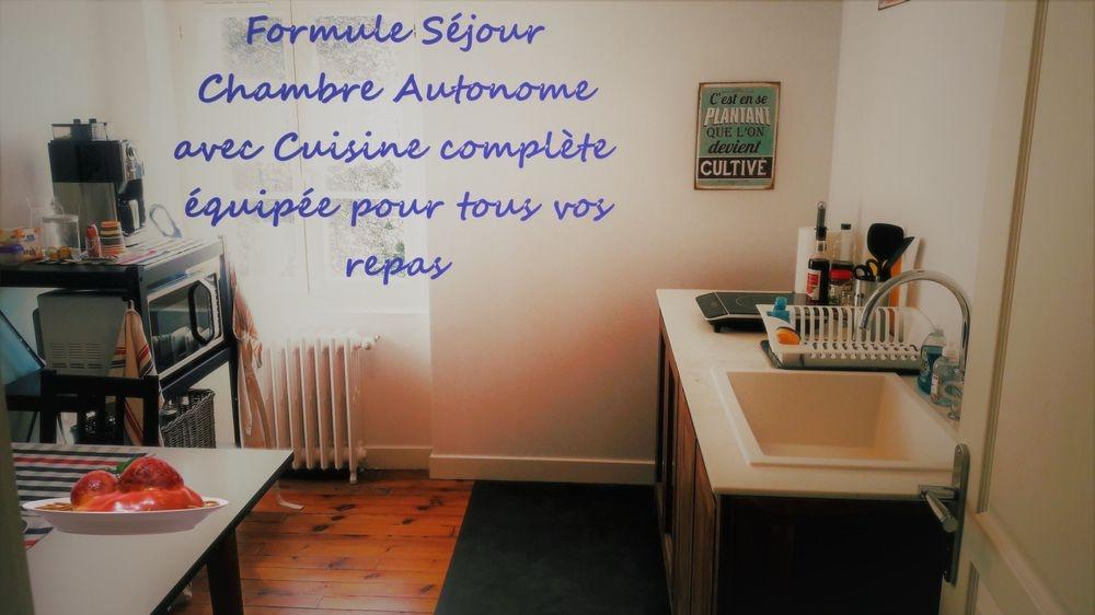 Formule Chambre Autonome avec Cuisine équipée Chez Martine et Philippe Saint Didier en Velay
