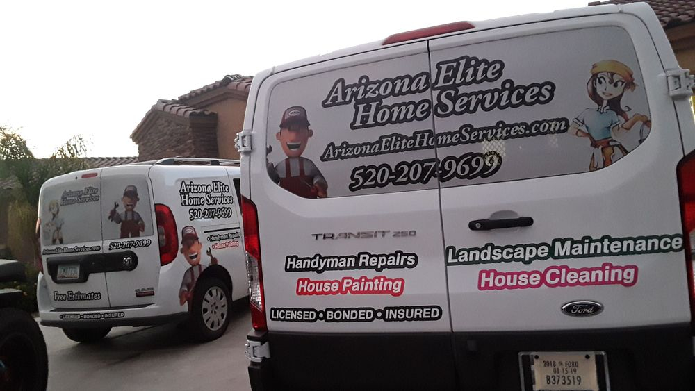 Arizona Elite Home Services truck