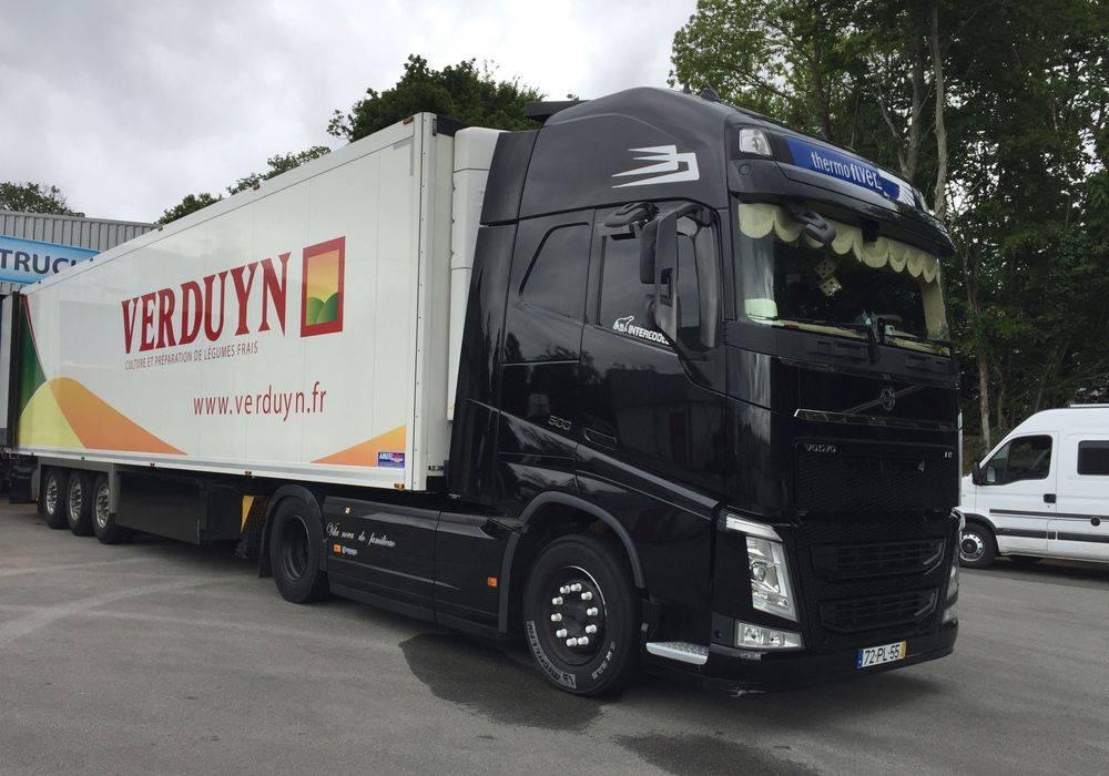 Vitre teintée Volvo FH16