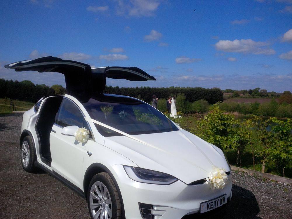Falcon Tesla Wedding Cars Cheshire Cumbria Lancashire