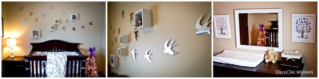 decorating art hanging winnipeg nursery decochic interiors