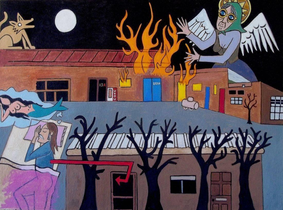 Angel, Babka, Studio Fire, Michael Andryc, Westside Studios, Santa Fe, NM