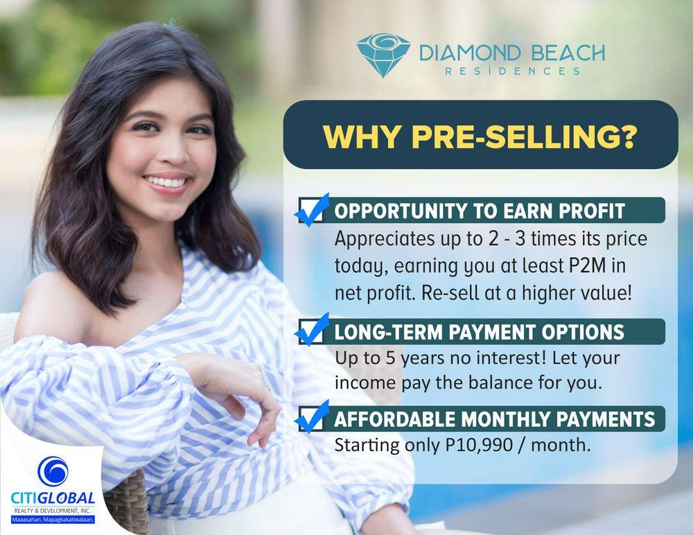 preselling properties puerto princesa palawan philippines,the diamond beach residences showroom ,the oasis diamond beach residences puerto princesa city palawan philippines ,palawan philippines real estate investment opportunities ,world-class beach-front development, affordable leisure properties, income-generating investments ,british & far east traders, citi global realty & development corporation, diamond beach residences, condotel investments, real estate investments in the philippines, diamond beach dreams to give the hardworking ofw a piece of his own paradise