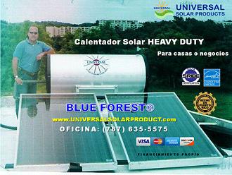 Calentador Solar 120 galones