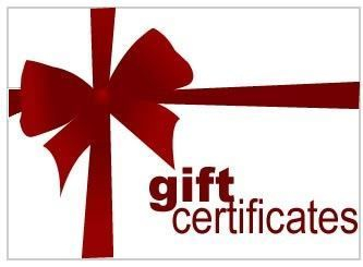 gift certificate. Give your friends and loved ones the gift of self defense