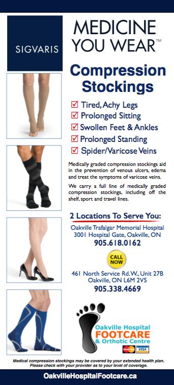 Images of Sigvaris medical compression socks