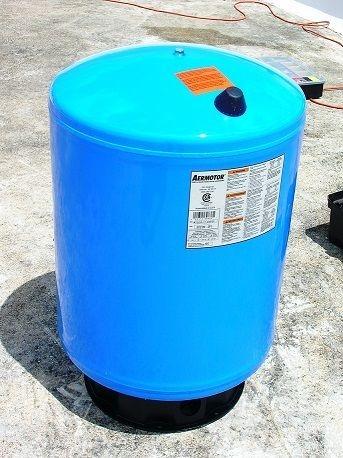 Tanque presurizado de agua