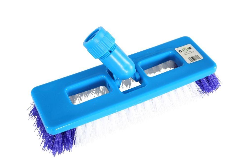 Floor Scrubbing Brush with Swivel Neck